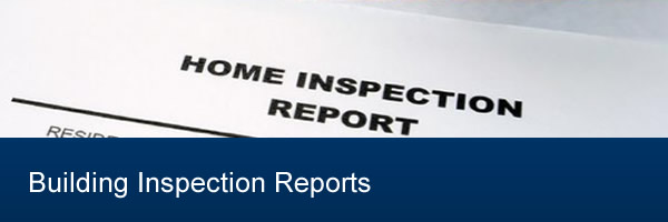 Different Types Of Building Inspection Reports